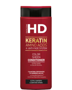HD Color Sheen Conditioner für coloriertes Haar. Extra Glanz & Farbe Wiederbelebung.