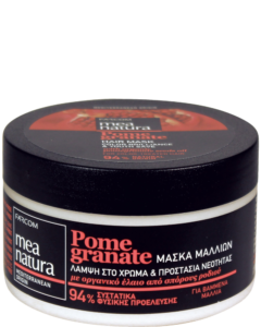 MEA NATURA Granatapfel-Haarmaske Color Brilliance & Youth Save